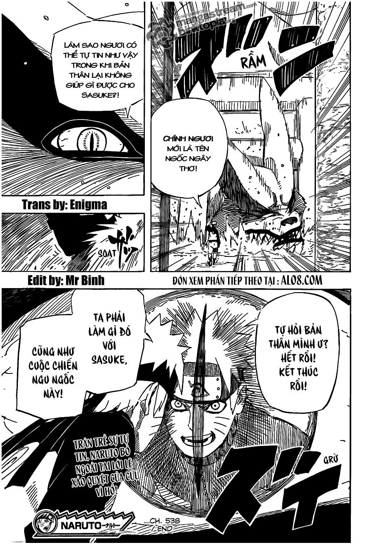 Naruto chap 538 Trang 17 - Mangak.info