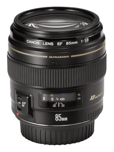 Lensa Canon EF 85mm f/1.8 USM Terbaru