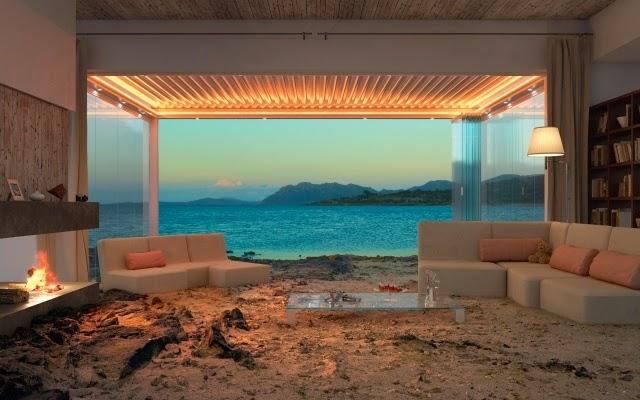 Aluminum Bioclimatic Terrace