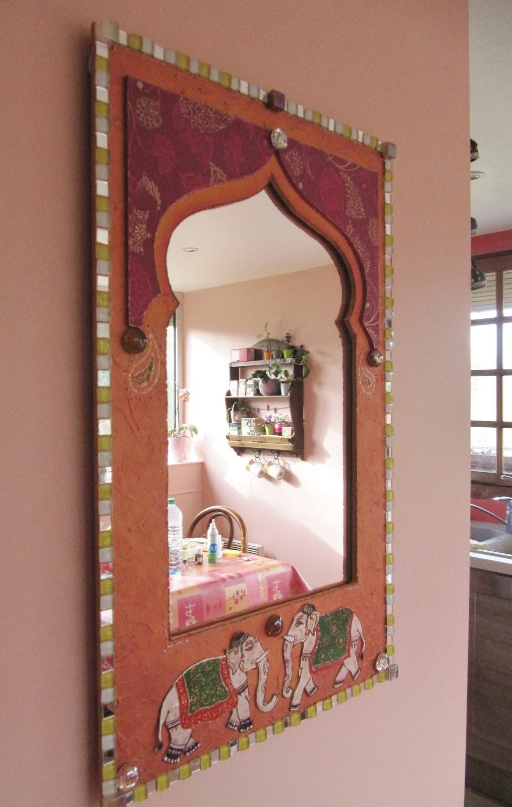Séverine peugniez créations: miroir oriental, création sur ...
