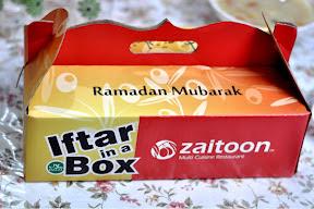 Ramzan Special - Zaitoon Iftar Box