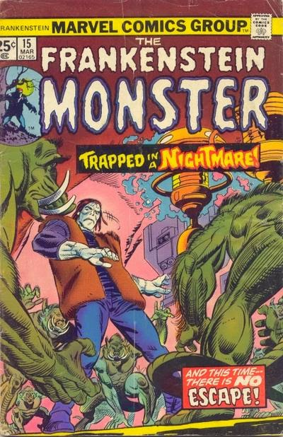 The Frankenstein Monster #15