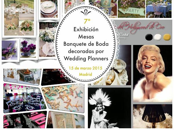 Exhibición Mesas de Banquete de Boda Madrid 2015