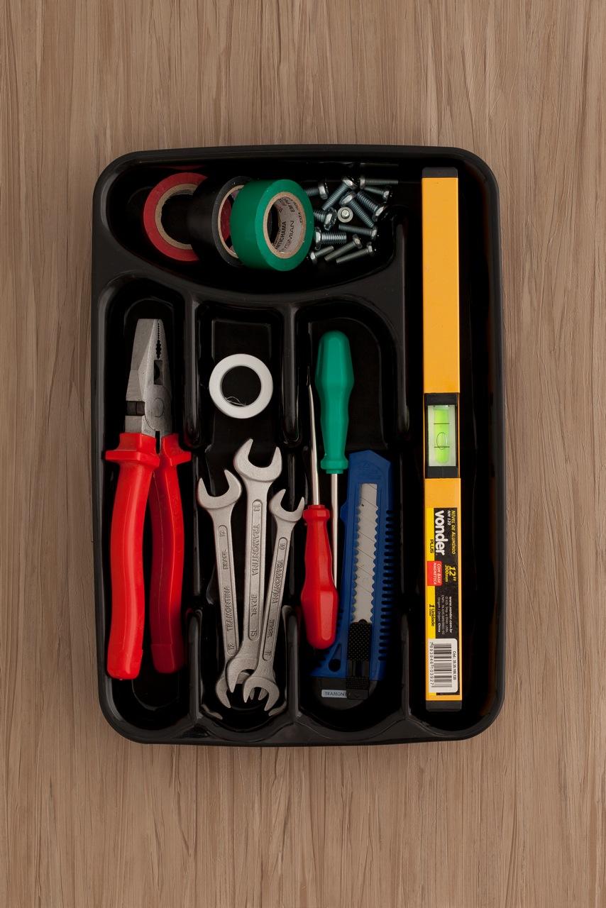 No volveremos a perder las herramientas con esta idea - Bandeja para cubiertos ...