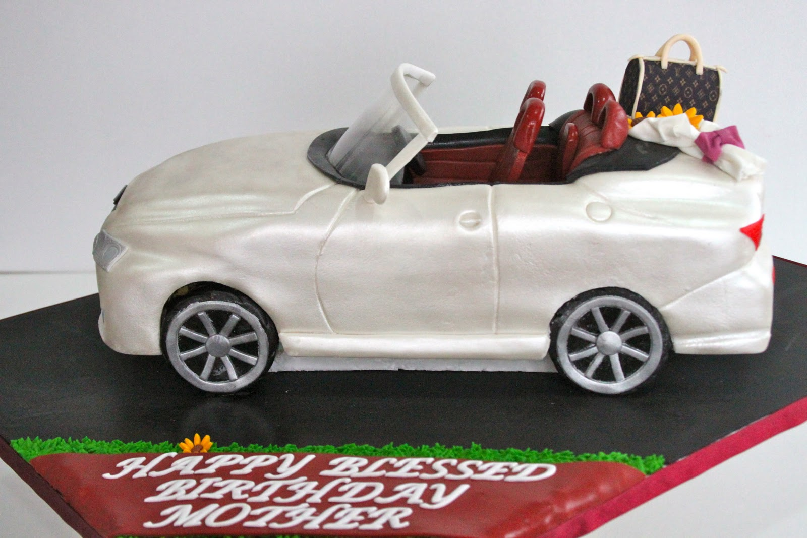 Lexus Themed Birthday Cake Images