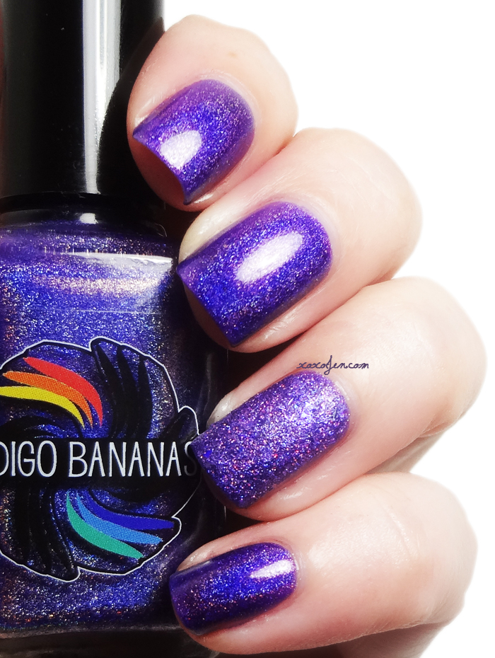 xoxoJen's swatch of Indigo Bananas Rhythm and Booze