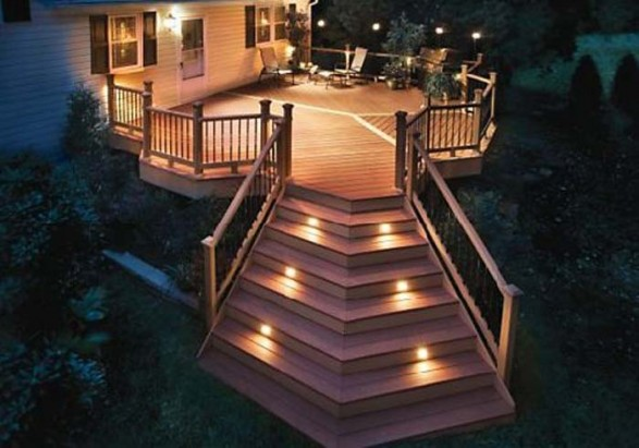 Deck design ideas Patio and deck lighting ideas
