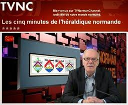 Les cinq  minutes de l'héraldique normande