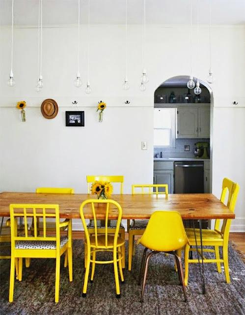 chaises depareillees salle a manger idees deco