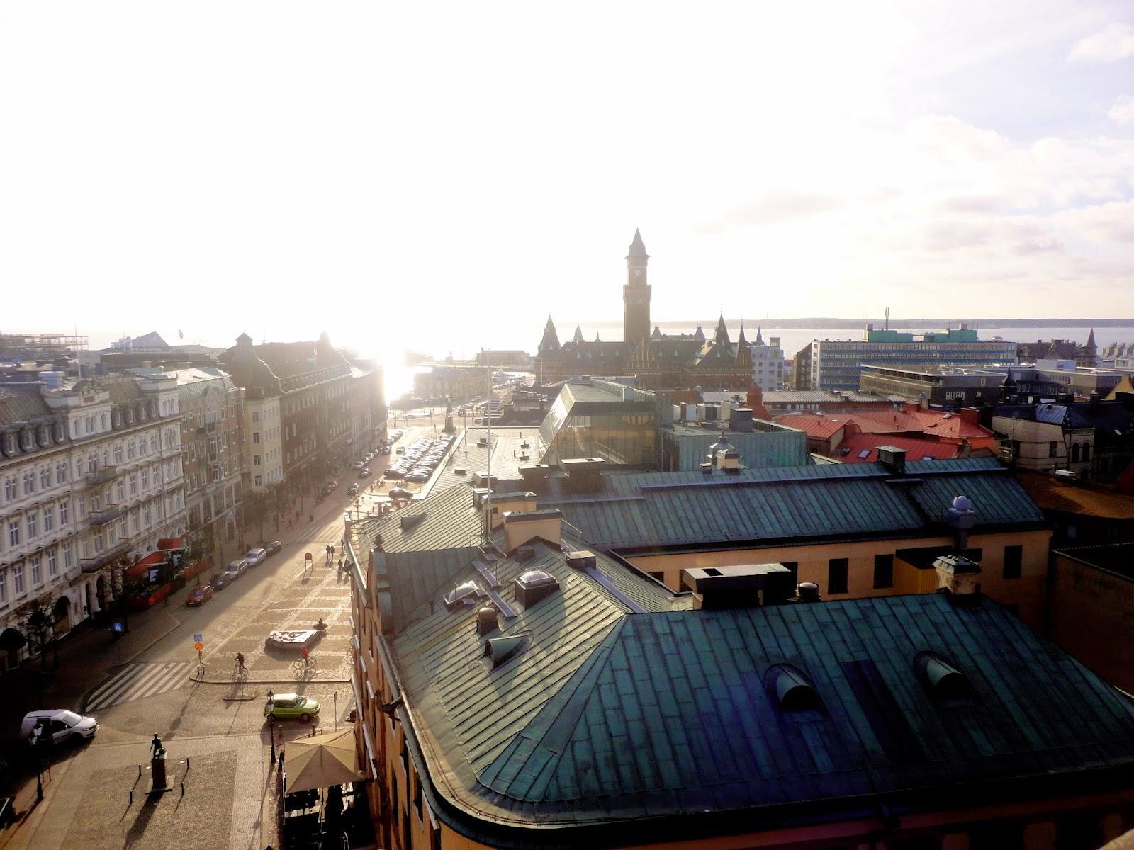 View over Helsingborg, Sweden