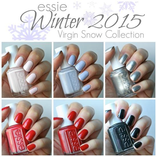 Essie Winter 2015 Virgin Snow Collection Essie Envy