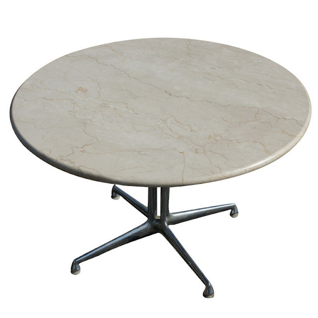 Round modern coffee tables Round marble coffee tables