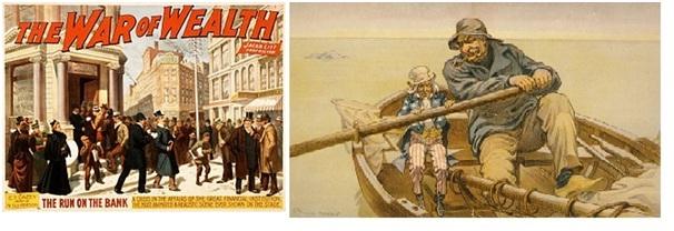 Panic Of 1907 Jp Morgan The Jp Morgan Led Bank Panic Of 1907 A Financial Coup To The Creature