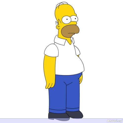 Cartoon Characters Simpsons : Homer simpson cartoon photos and wallpapers