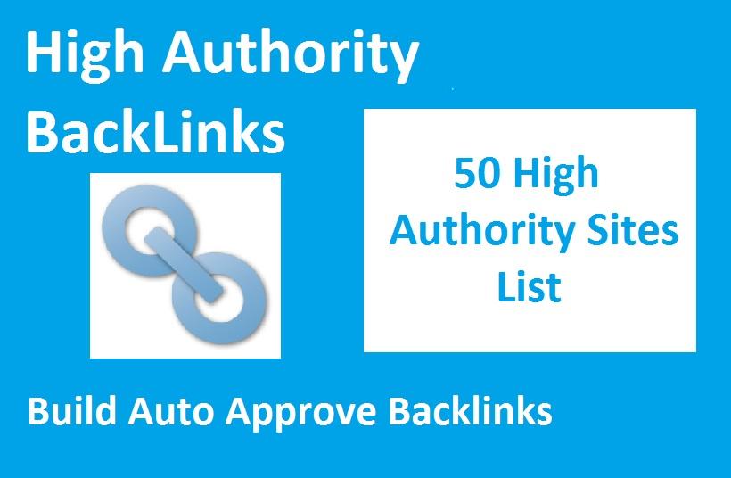 list high sites