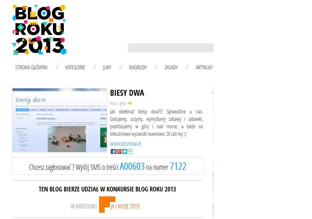 http://www.blogroku.pl/2013/kategorie/biesy-dwa,6t3,blog.html