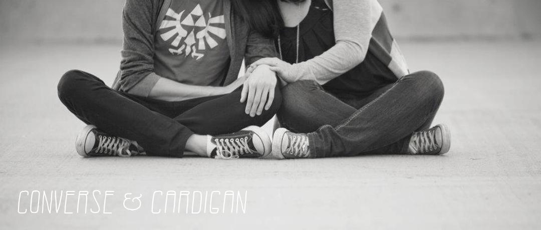 Converse & Cardigan