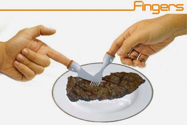 Innovative and Clever Wearable Cutlery (15) 1