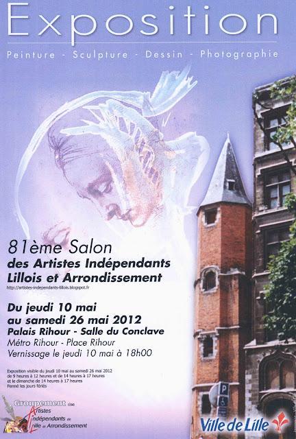 Le cercle royal artistique mouscronnois avril 2012 for Carrelage wambrechies
