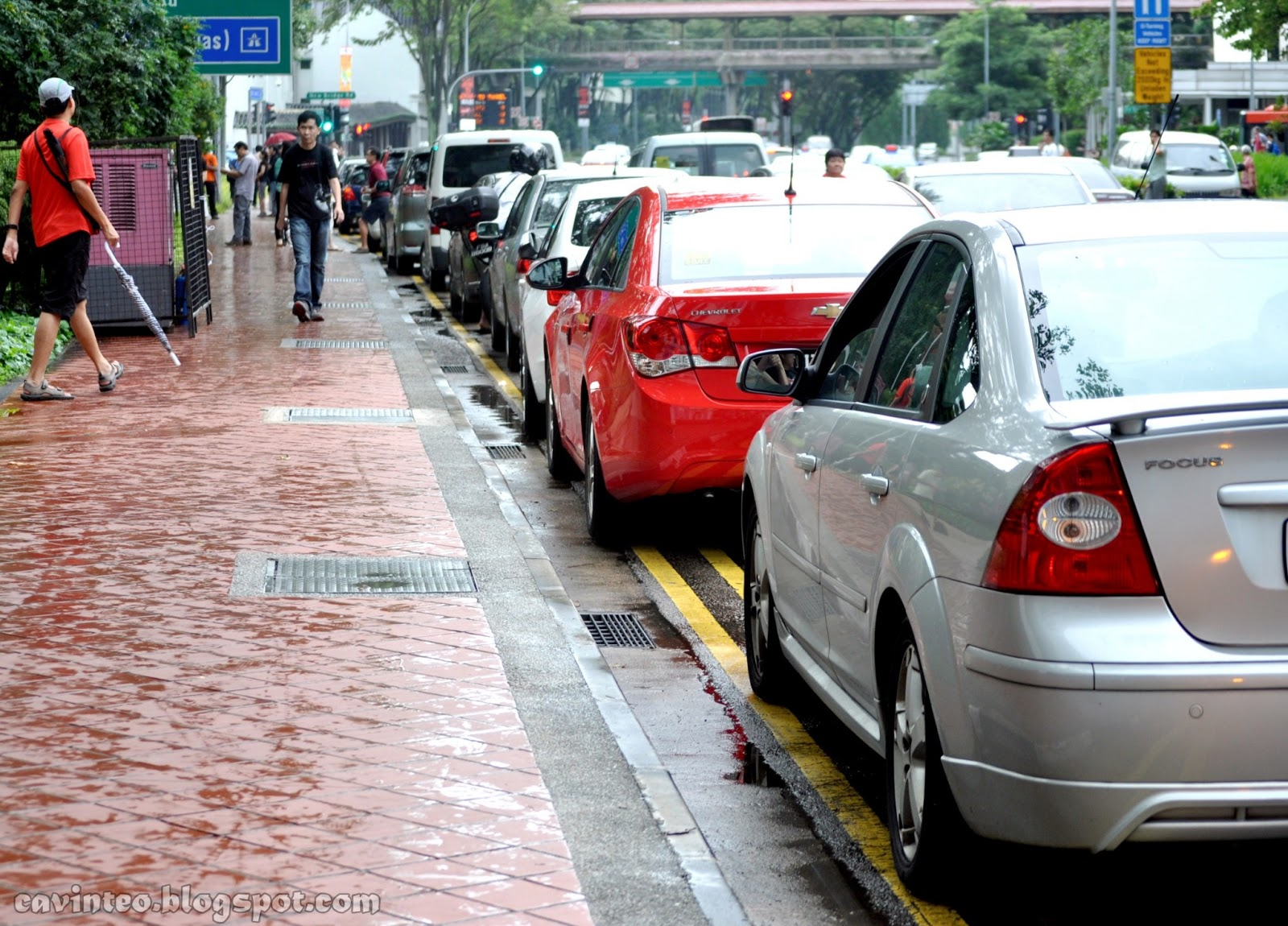 Year 2030 Cars Cars parked illegally on theYear 2030 Cars