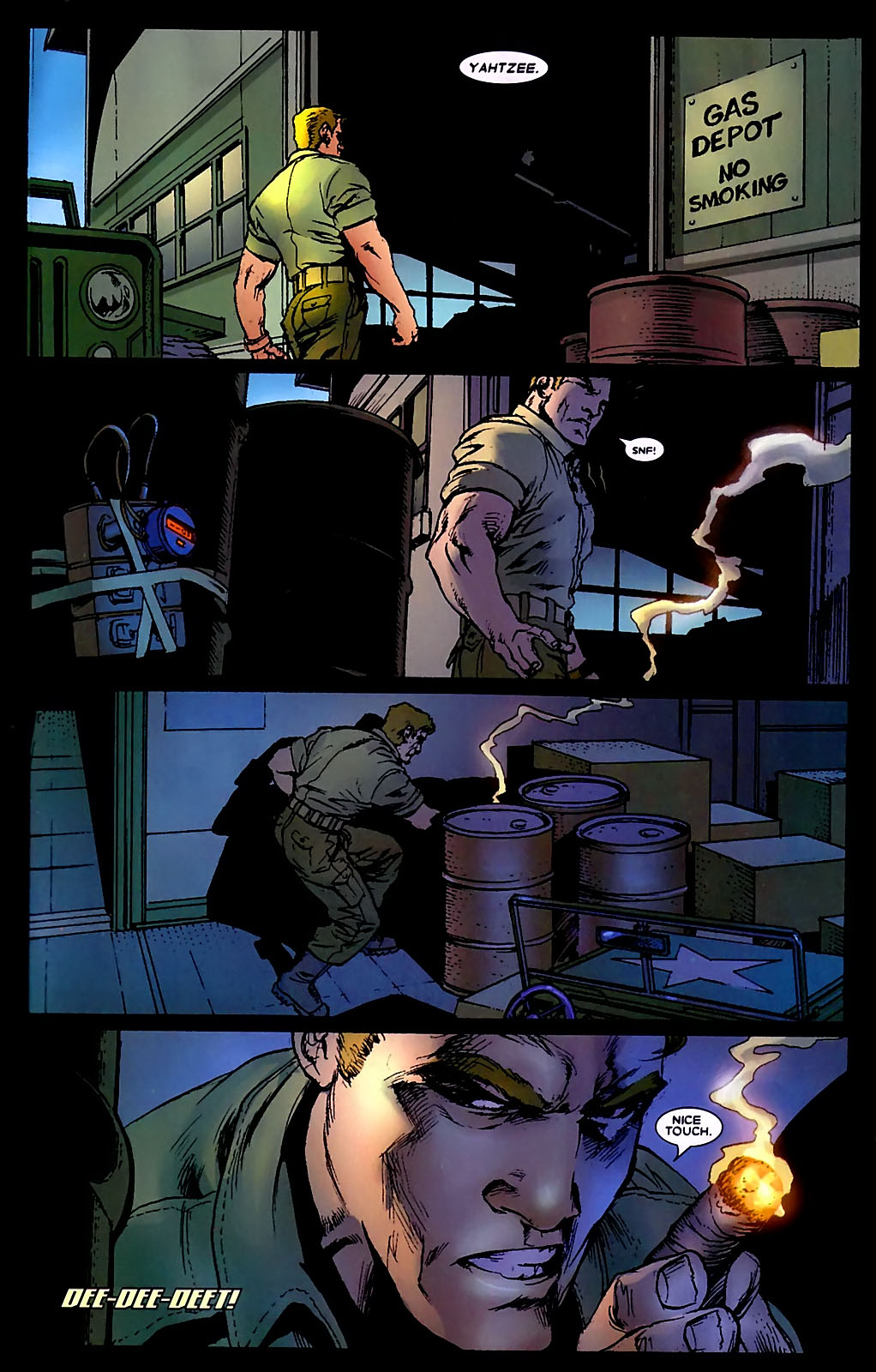 Read online Wolverine (2003) comic -  Issue #34 - 18