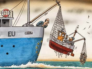 The EU: Factory fishing for fools.
