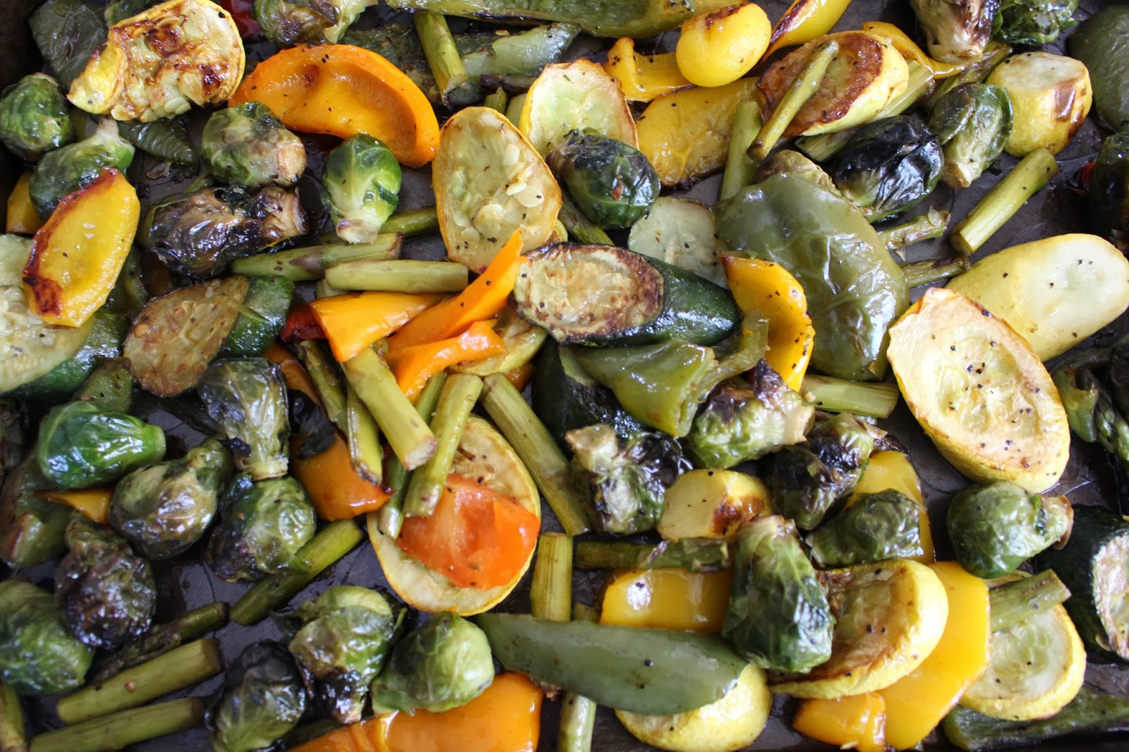 Mami-Eggroll: Recipe: Oven Roasted Vegetables