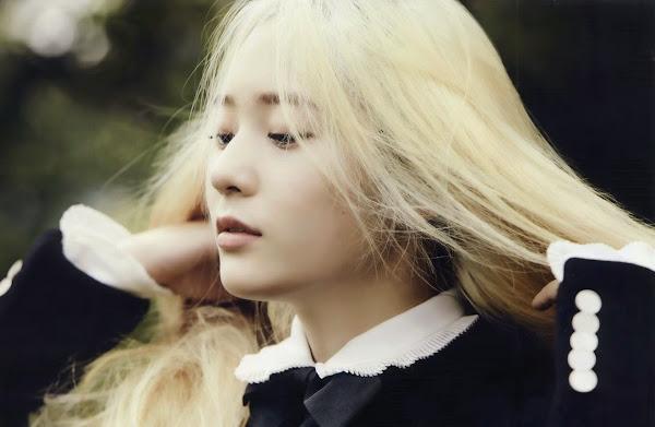 Krystal f(x) Elle August 2014