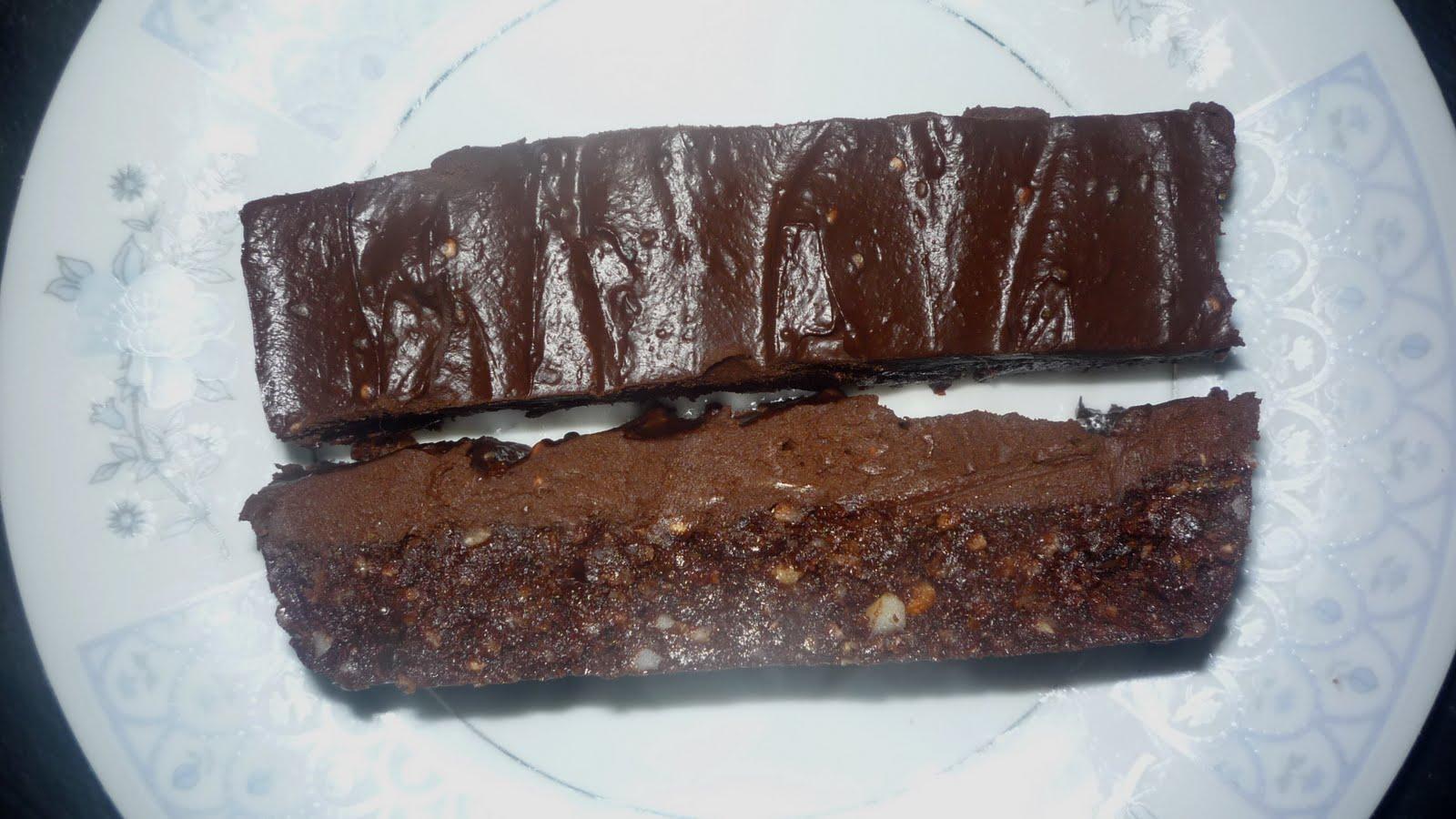 ... Life: Chocolate Fudge Slice with Chocolate & Avocado Mousse