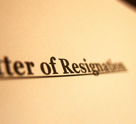 Contoh surat ini merupakan surat pengunduran diri kerja yang dibuat