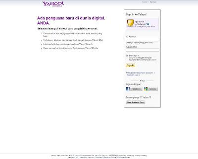 cara membuat email di yahoo