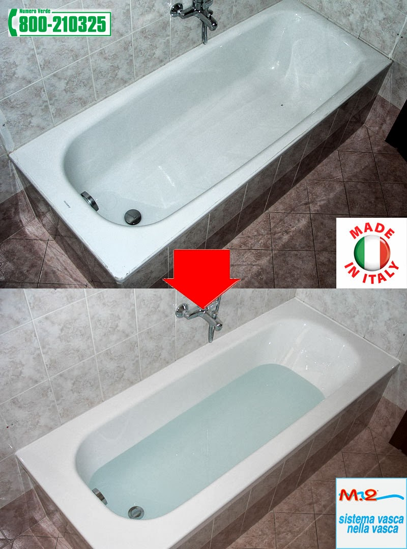 """Sostituzione vasca da bagno con il metodo """"Vasca Nella Vasca"""" eseguita a Forte Dei Marmi (LU ..."""