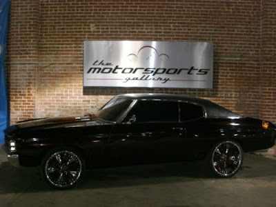 Carmelo anthony custom chevelle charity auction 1971 for Charity motors auction 8 mile