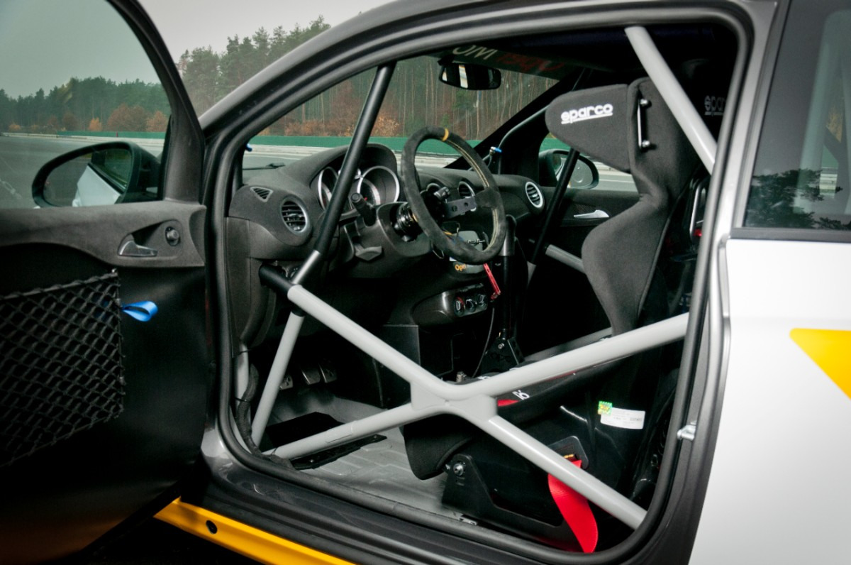 2013 Opel Adam Rally Cup version - interior
