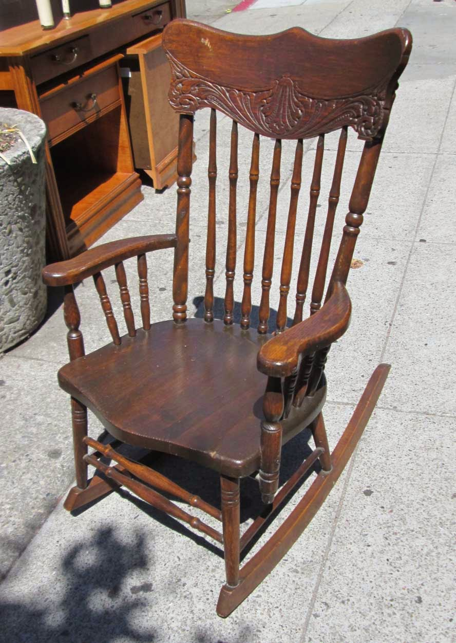 SOLD Vintage Rocking Chair By S. Bent U0026 Brothers   $60