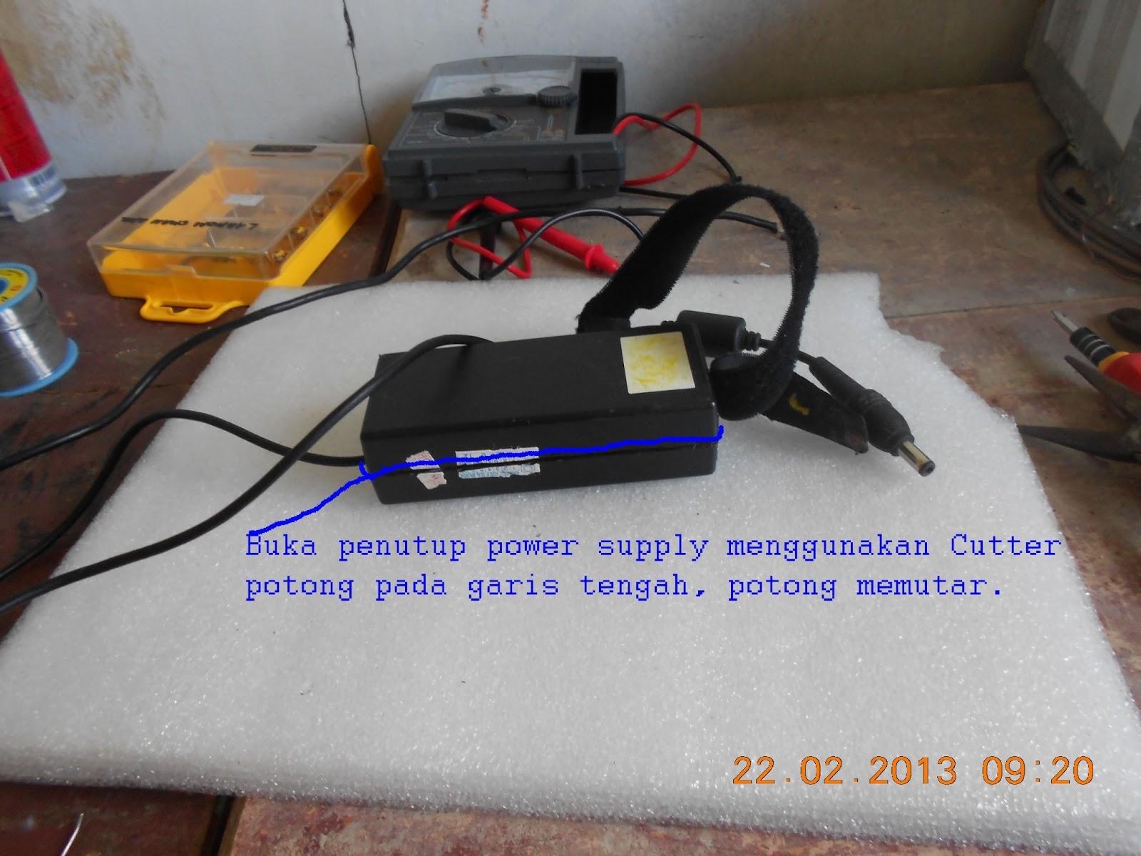 Output Kabel Cari Kabel Induk Jalur Output