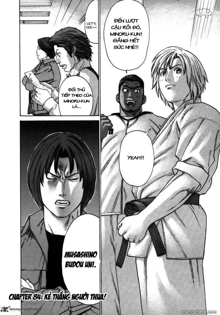 Karate Shoukoushi Kohinata Minoru chap 84 Trang 22