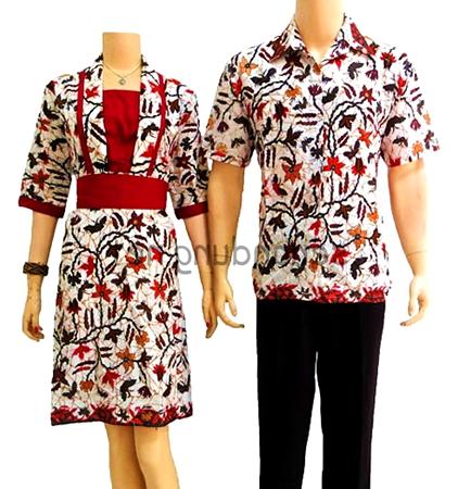 beauty  style Toko Batik Couple Dengan Model Baju Batik Modern
