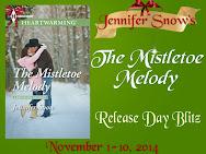 Jennifer Snow's THE MISTLETOE MELODY Release Day Blitz