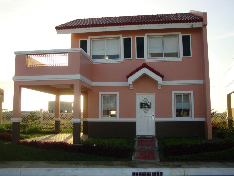 Drina model house of camella home series iloilo by camella for Houses models
