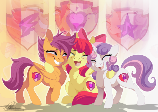 If you have a problem, if no one else can help, and if you can find them, maybe you can hire the Cutie Mark Crusaders.