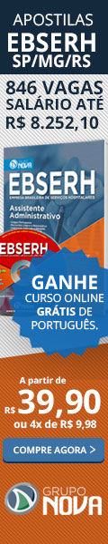 Apostilas EBSERH - Empresa Brasileira de Serviços Hospitalares