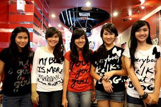 Foto Blink Girlband Indonesia Lengkap