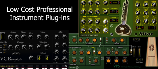 LOW COST PROFESSIONAL PLUG-INS