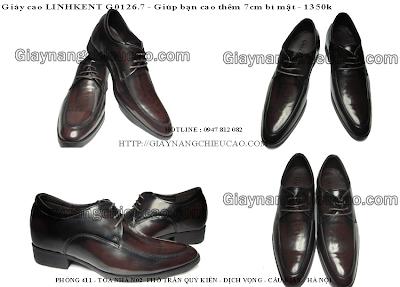 Giày nam cao công sở GT126. 7