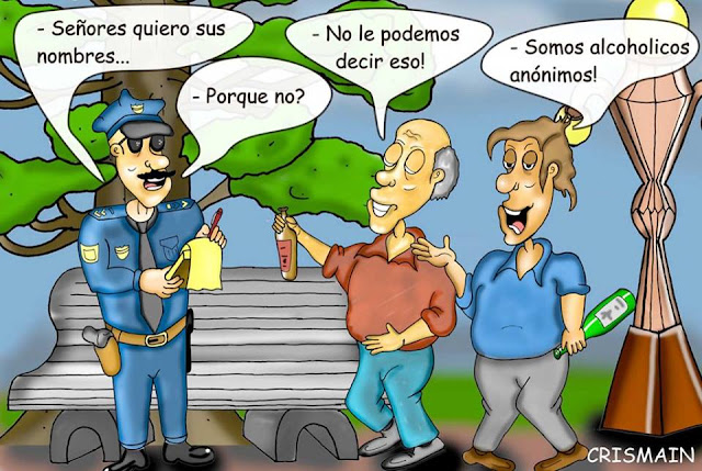 CHISTE: ALCOHÓLICOS ANÓNIMOS