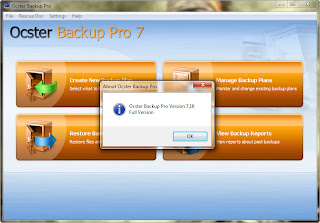 Ocster Backup Pro 7.16 Full Serial Key