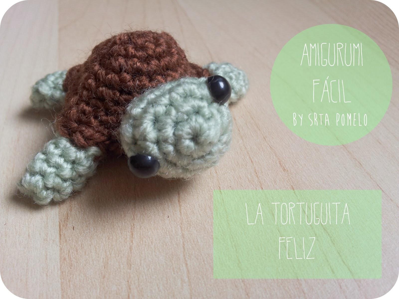 Srta Pomelo: Amigurumi: cómo hacer una tortuguita.
