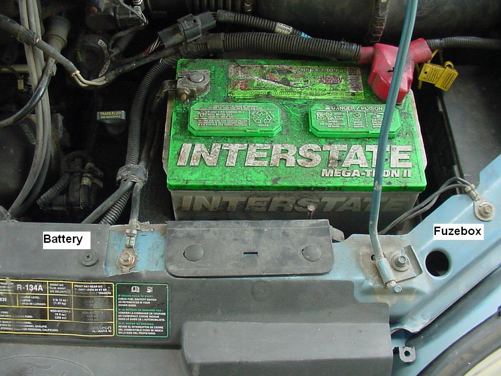 My Commentary And Technical Help Ford Windstar Intermittent 2000 Lx Grounds