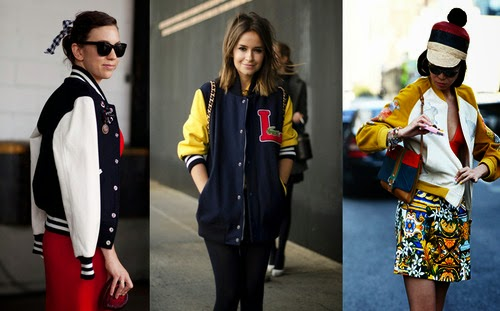 Try a Vintage Varsity Jacket for Spring
